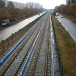 Трамвайные и жд пути
